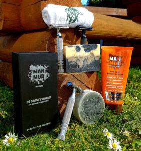 natural cosmetic products for men by men